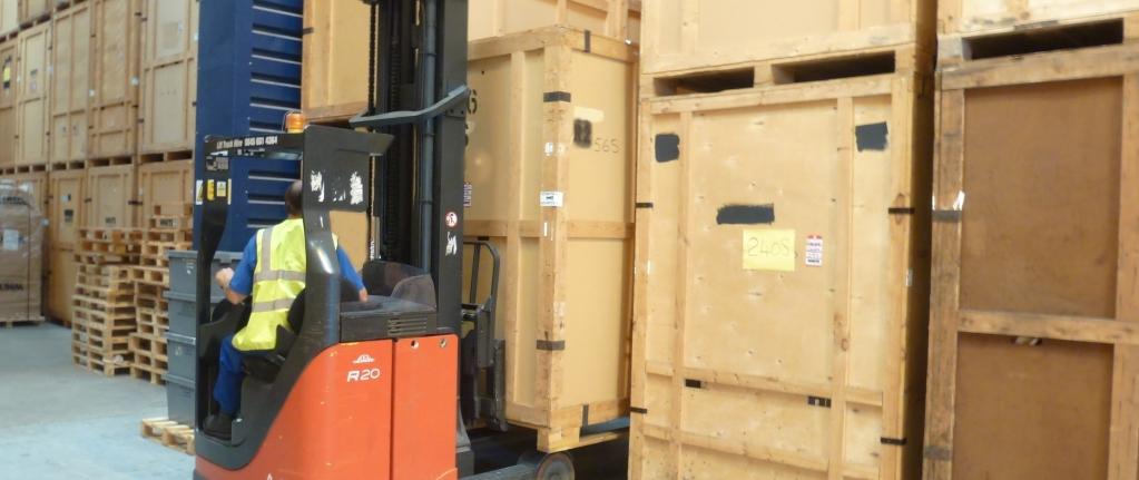 Chichester Storage Archibald Removals Chichester Fork Truck Storage image