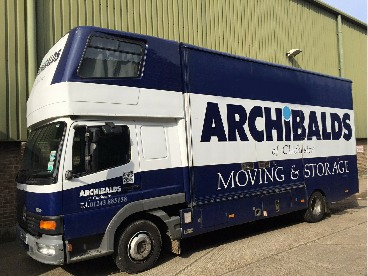 Chichester removals Removals Truck Image
